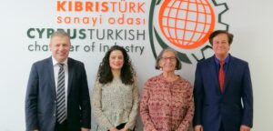Embargoed!'s meeting with Candan Armagan, President of the Turkish Cypriot Chamber of Industry